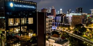 Review: InterContinental Singapore Robertson Quay, The Quayside