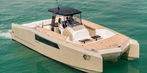 Sunreef award-winning 40 Open Sunreef Power Diamond Limited Edition and other new models