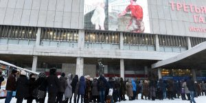 Russians Throng Valentin Serov Art Exhibition