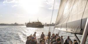 Tack and Block: Onboard Spirit Sailing Yacht