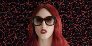 WATCH: Anna Cleveland Models Fendi Sunglasses