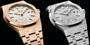 Review: Audemars Piguet Royal Oak Frosted Gold