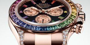 Baselworld 2018 Rolex Rainbow Daytona Everose Ref. 116595