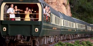 Street art on wheels: Belmond's Eastern & Oriental Express Asia carriages double as canvas