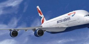 British Airways to start A380 service to LA in October