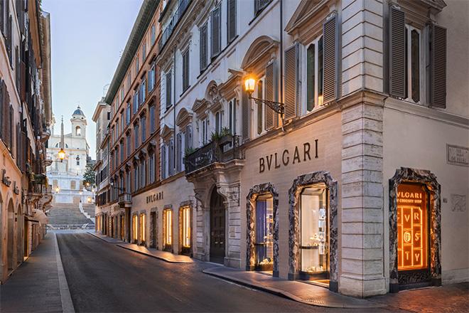 Bvlgari's New Curiosity Shop on Via Condotti