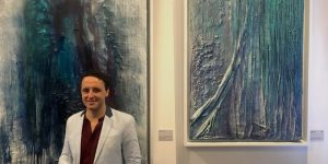 Art exhibition in Singapore: Geologica by Spanish artist Carlos M. Luque at Fabulation