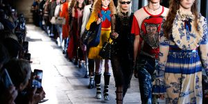 Gucci Cruise at Westminster Abbey