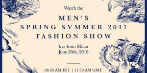 Livestream: Gucci Menswear SS2017
