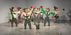 STPI Exhibition: Artist Heri Dono in Zaman Edan