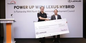 Lexus Powers Up Households with Hybrid Cars