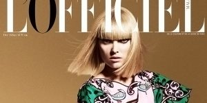 Elsa Hosk fronts L'Officiel Malaysia's Festive Issue