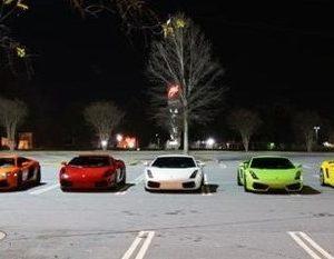 Lamborghini gathering