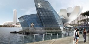 Louis Vuitton Island at Marina Bay Sands Singapore