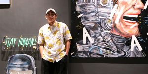An Interview with Rising Indonesian Artist Naufal Abshar