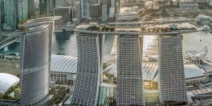 New Fourth Tower for Marina Bay Sands changes Singapore Skyline