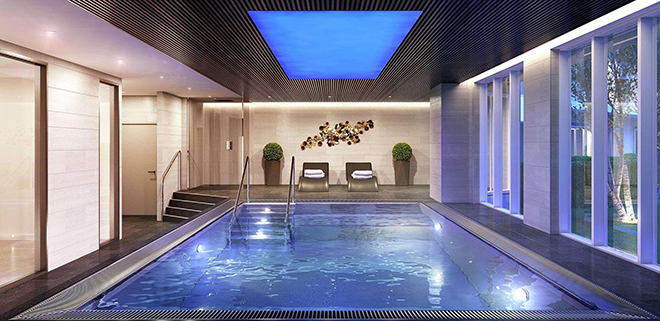Aqua Platinum indoor pool