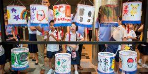 Special Needs Children Get Artsy with UOB
