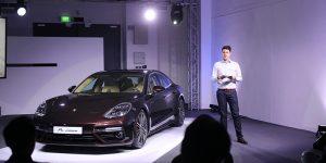 Porsche Panamera Turbo Sneak Preview