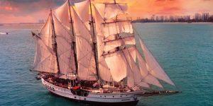 Interview with Pete Pela on luxury tallship, the Royal Albatross