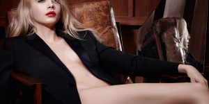 Cara Delevingne Strips Down For New YSL Campaign