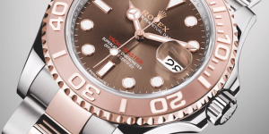 Rolex watches for sailors: Oyster Perpetual Yacht-Master 40mm with Everose Rolesor case