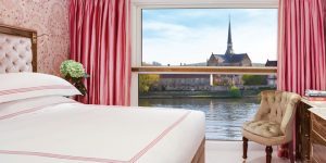 Luxury superyacht cruises in France: SS Joie de Vivre sails from Paris boasting onboard cinema and spa lifts