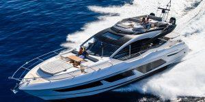 Sunseeker 74 Sport Yacht Celebrates Asia Premiere in Singapore