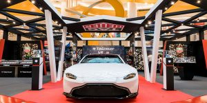 TAG Heuer's VivoCity Pop Up Exhibition Stars New Aston Martin Watches