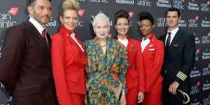 Airline uniforms created by high fashion designers