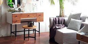 Mahogany furniture in Singapore with the My Signature Londoner collection by bornincolour