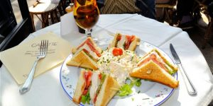 Paris Named Most Expensive City for a Club Sandwich