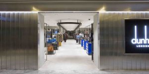 Dunhill Opens Pop-Up Store in Paragon Singapore