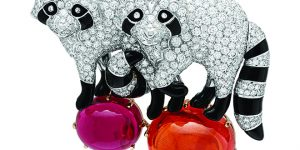 Jewellery exhibitions in Hong Kong: Van Cleef and Arpels presents animal clips inspired by Noah's Ark