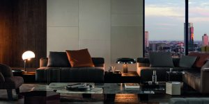 Luxury Italian home furniture: 'Freeman Collection' by Minotti embraces relaxed contemporary living