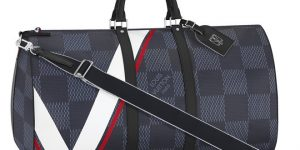 Nautical inspired accessories: Louis Vuitton America's Cup collection celebrates the America's Cup in Bermuda
