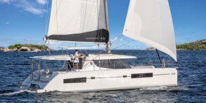 Luxury sailing catamaran: Leopard 45 boasts top speed and new exterior look