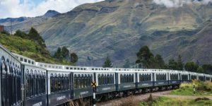 The Belmond Andean Explorer offers luxury cabins to travel across the Peruvian Andes