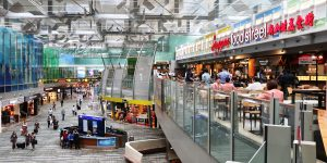 Singapore airport opens street hawker-style food court